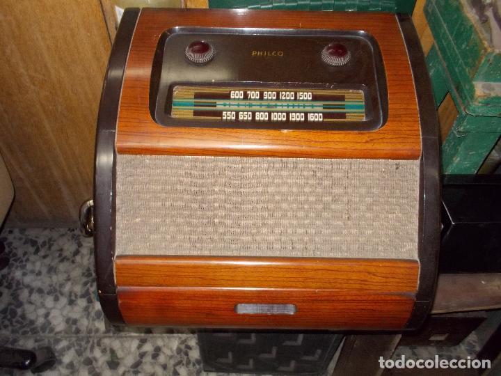 Radios de válvulas: Radio philco funcionando - Foto 18 - 67741889