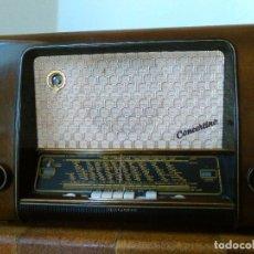 Radios de válvulas: RADIO TELEFUNKEN CONCERTINO 55. Lote 70305713