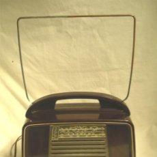 Radios de válvulas: RADIO PHILIPS IBERICA 434 BAQUELITA GRANATE AÑO 53. MED. 26 X 12,50 X 25 CM. Lote 72431787