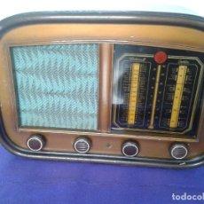Radios de válvulas: RADIO ANTIGUA - L.I.R.E. ( LA INDUSTRIA RADIO-ELÉCTRICA ) - MODELO 518 - BARCELONA - ÚNICA. Lote 73778995