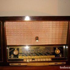 Radios de válvulas: RADIO IBERIA Y TRES VOLTÍMETROS. Lote 74275659