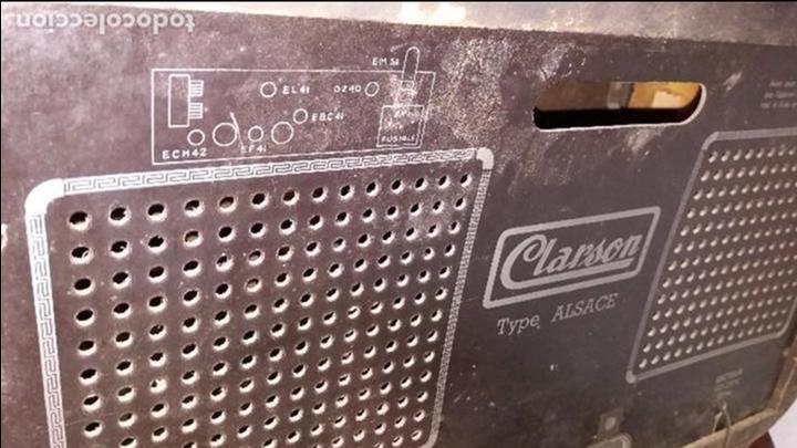 Radios de válvulas: RADIO CLARSON - Foto 4 - 74764699