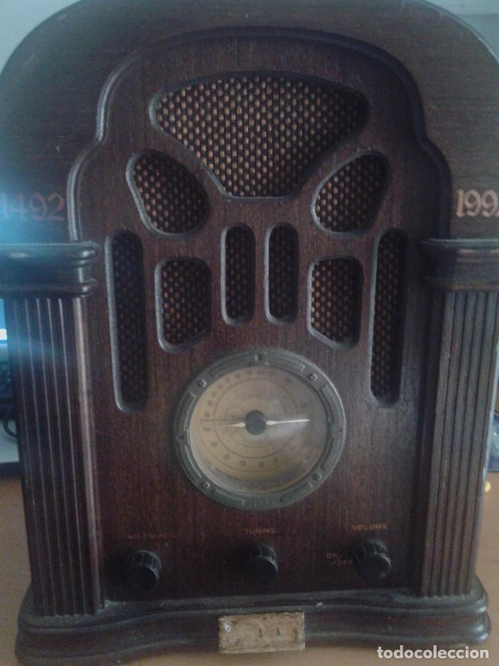 REPLICA. EDICIÓN COLECCIONISTA RADIO - RADIO THOMAS ESPAÑA. (Radios, Gramófonos, Grabadoras y Otros - Radios de Válvulas)