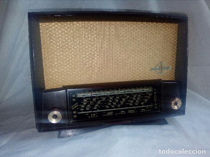 Radios de válvulas: ANTIGUA RADIO DE VÁLVULAS DUCRETET THOMSON - L 724. - Foto 8 - 75258615