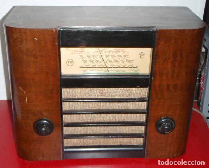 RADIO ORION FUNCIONANDO (Radios, Gramófonos, Grabadoras y Otros - Radios de Válvulas)