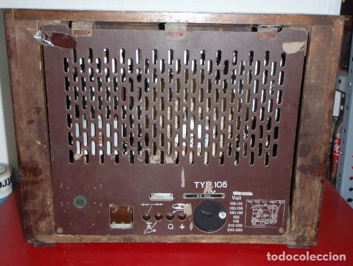 Radios de válvulas: RADIO ORION FUNCIONANDO - Foto 5 - 76749267
