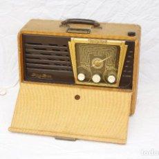 Radios de válvulas: EXCLUSIVA RADIO MARCA PIZON BROS MODELO SKY MASTER. Lote 77298141