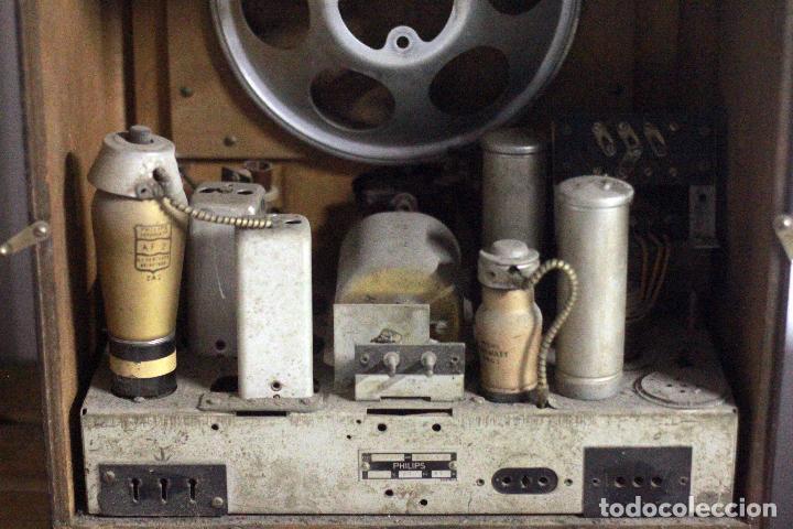 Radios de válvulas: Radio Super inductance 736A de Philips. - Foto 3 - 77918693