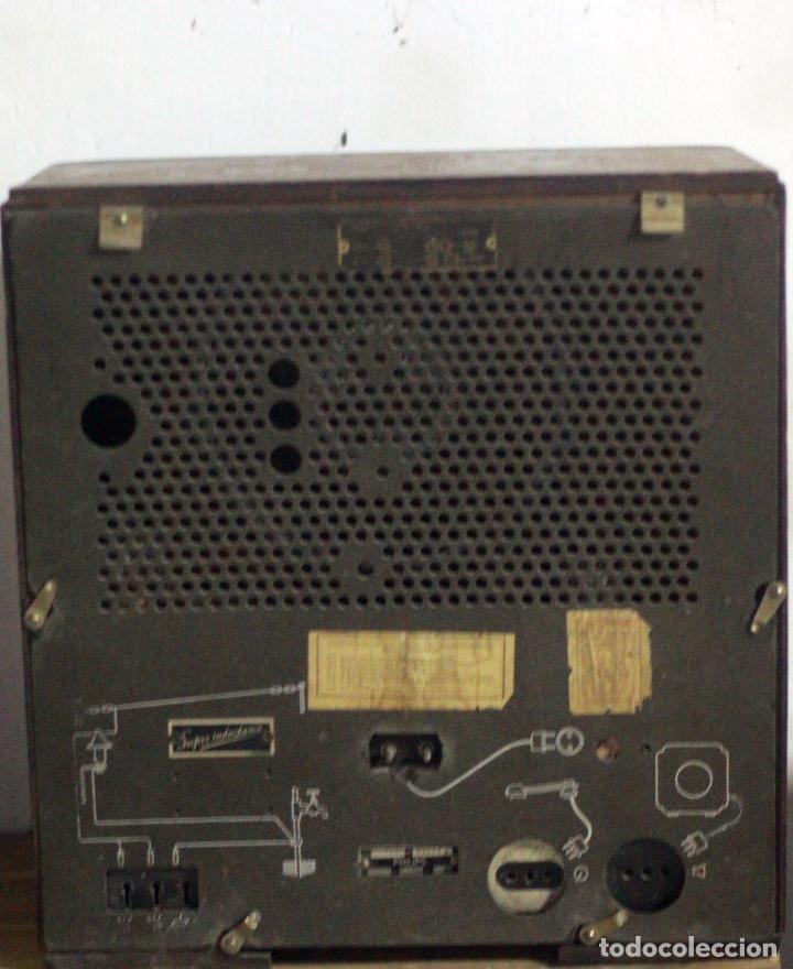 Radios de válvulas: Radio Super inductance 736A de Philips. - Foto 4 - 77918693