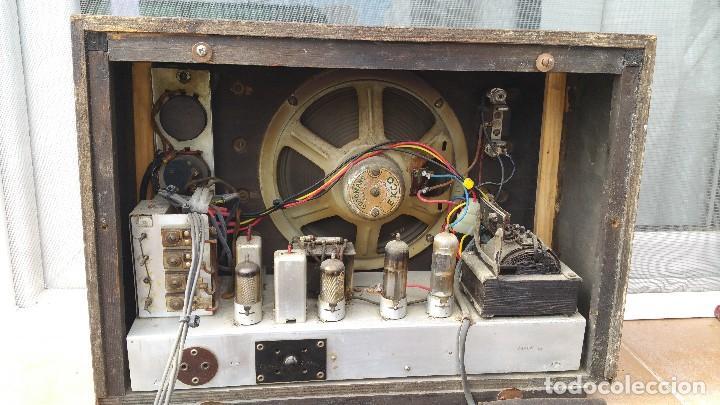 Radios de válvulas: Radio de valvulas Ekco - Foto 4 - 79943437