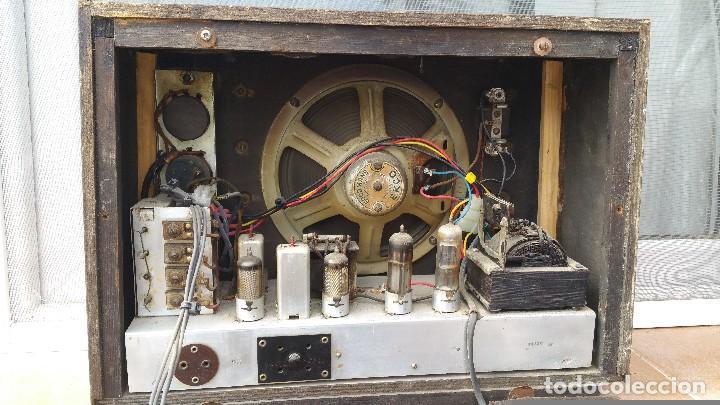 Radios de válvulas: Radio de valvulas Ekco - Foto 6 - 79943437
