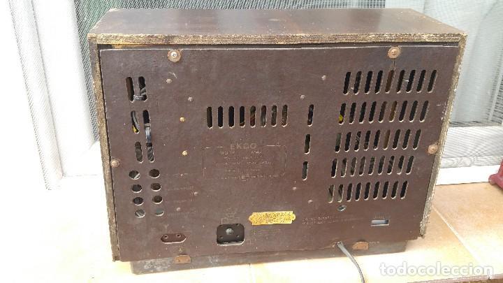Radios de válvulas: Radio de valvulas Ekco - Foto 7 - 79943437