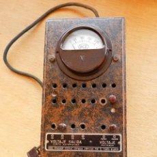 Radios de válvulas: ANTIGUO VOLTÍMETRO ESTABILIZADOR DE CORRIENTE, PARA APARATOS DE RADIO. Lote 80988700