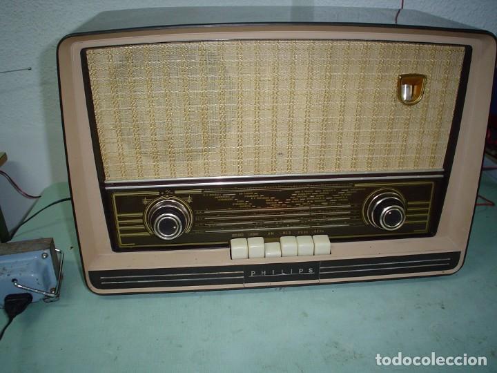 RADIO A VALVULAS PHILIPS BE-562-A (Radios, Gramófonos, Grabadoras y Otros - Radios de Válvulas)