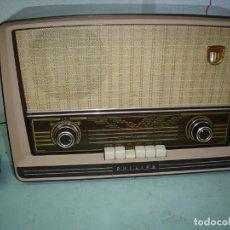 Radios de válvulas: RADIO A VALVULAS PHILIPS BE-562-A. Lote 81565164