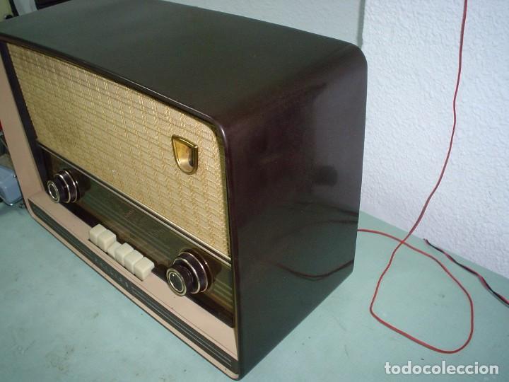 Radios de válvulas: RADIO A VALVULAS PHILIPS BE-562-A - Foto 2 - 81565164