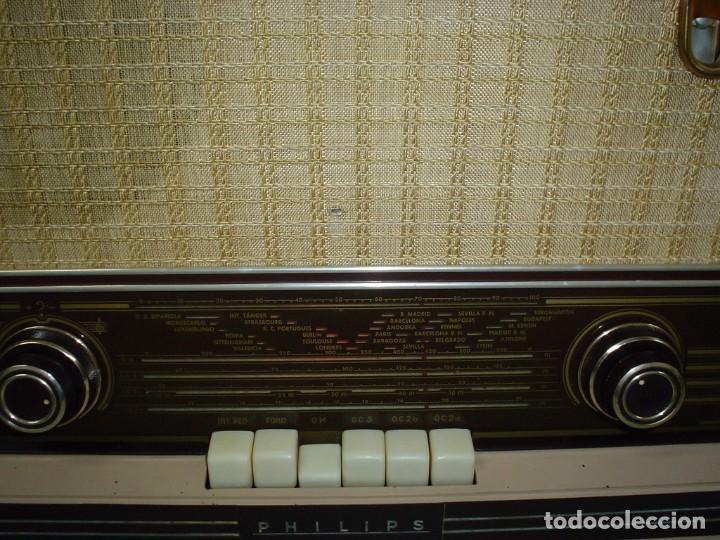 Radios de válvulas: RADIO A VALVULAS PHILIPS BE-562-A - Foto 3 - 81565164