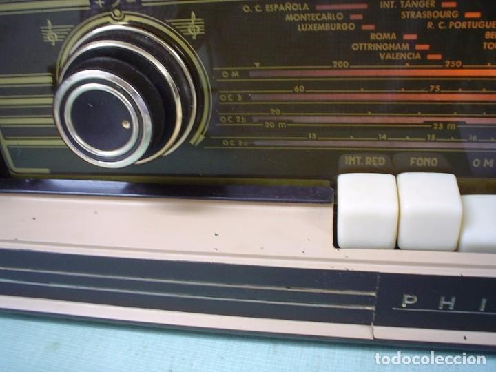 Radios de válvulas: RADIO A VALVULAS PHILIPS BE-562-A - Foto 6 - 81565164