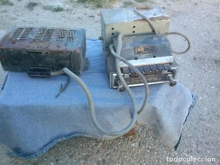 antiguo radio caset de valvulas beker brercia Tipo ARV V. Mercedes 1800 . Unica en TC segunda mano