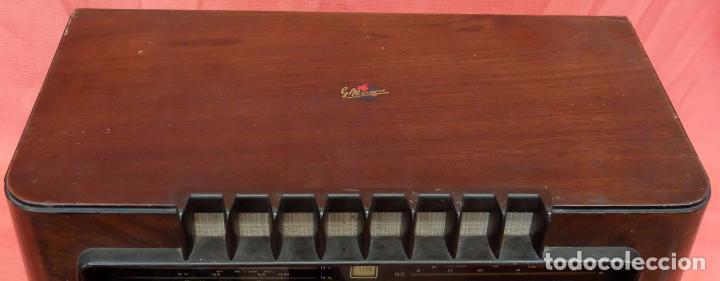 Radios de válvulas: RADIO A VALVULAS MARCONI M-49. FINALES DE LOS AÑOS 40 - Foto 2 - 85045128