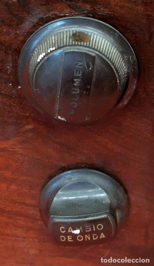Radios de válvulas: RADIO A VALVULAS MARCONI M-49. FINALES DE LOS AÑOS 40 - Foto 5 - 85045128