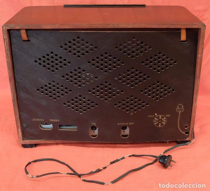 Radios de válvulas: RADIO A VALVULAS MARCONI M-49. FINALES DE LOS AÑOS 40 - Foto 8 - 85045128