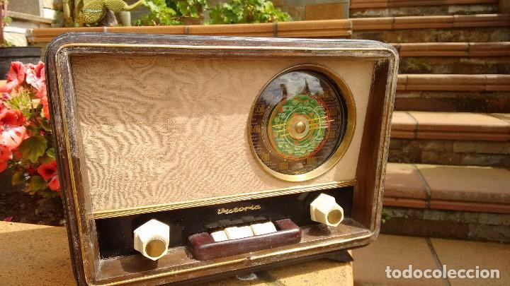 RADIO RECEPTOR MARCA VICTORIA. BABY ROY. (Radios, Gramófonos, Grabadoras y Otros - Radios de Válvulas)