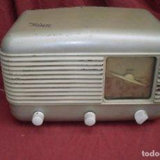 Radios de válvulas: RADIO INTER,BAQUELITA,FUNCIONANDO,AÑOS 40. Lote 96731350