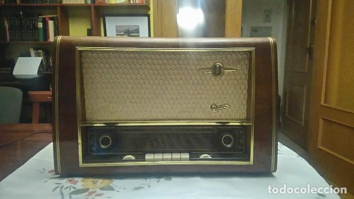 RADIO A VALVULAS GRAETZ SUPER 168W (Radios, Gramófonos, Grabadoras y Otros - Radios de Válvulas)
