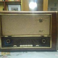 Radios de válvulas: RADIO A VALVULAS GRAETZ SUPER 168W. Lote 87213648