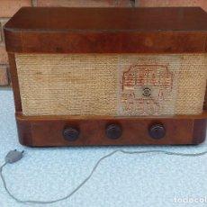 Radios de válvulas: ANTIGUA RADIO ASKAR DE VÁLVULAS. Lote 88346660