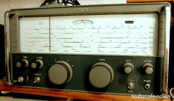 RECEPTOR INGLÉS EDDYSTONE MODELO 840C (Radios, Gramófonos, Grabadoras y Otros - Radios de Válvulas)