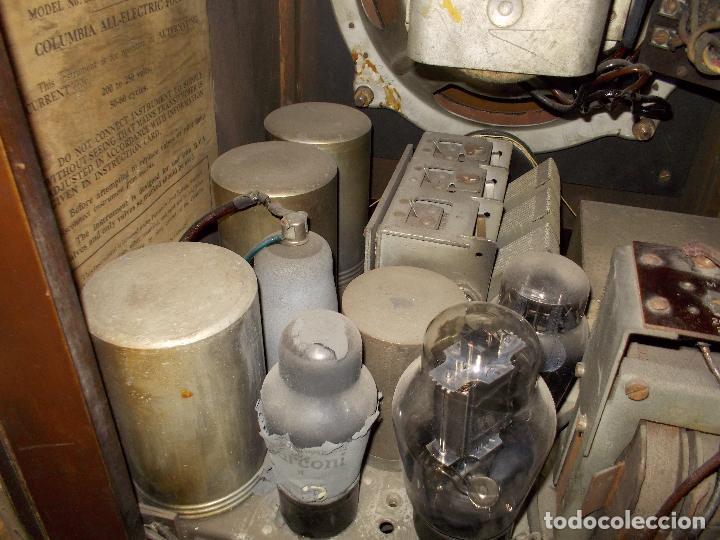 Radios de válvulas: Radio Columbia - Foto 16 - 88548476