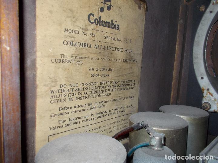 Radios de válvulas: Radio Columbia - Foto 21 - 88548476