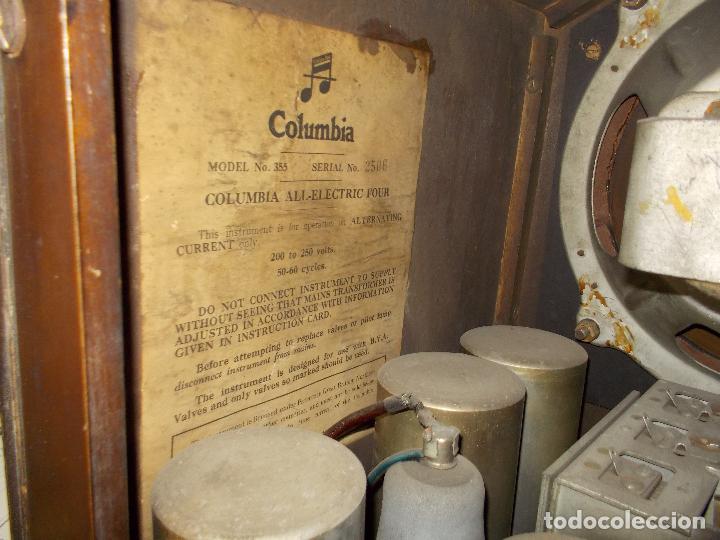 Radios de válvulas: Radio Columbia - Foto 22 - 88548476