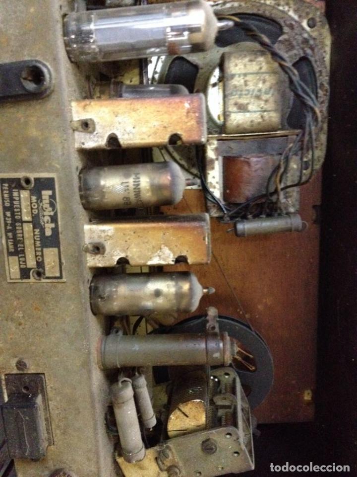 Radios de válvulas: Radio Invicta modelo 5368 - Foto 3 - 111708972