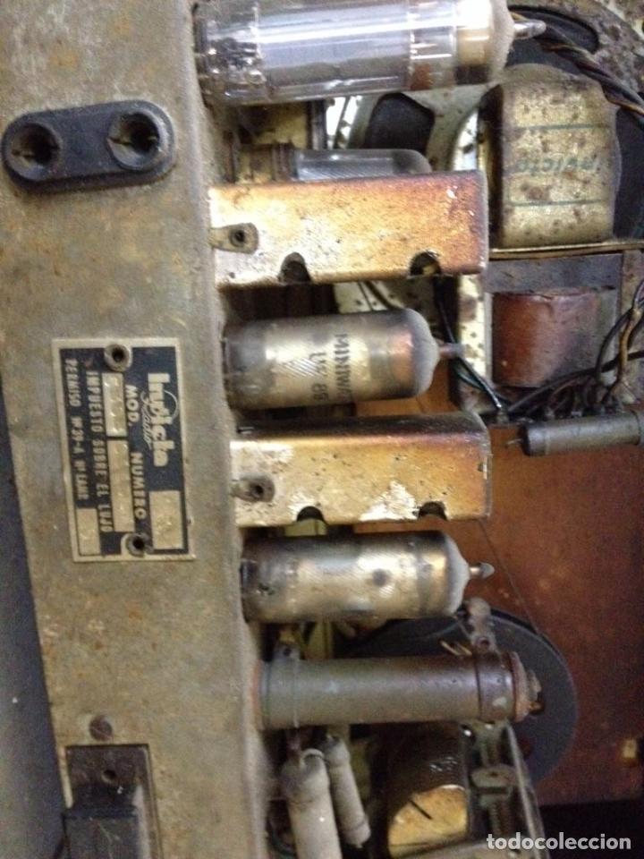 Radios de válvulas: Radio Invicta modelo 5368 - Foto 4 - 111708972