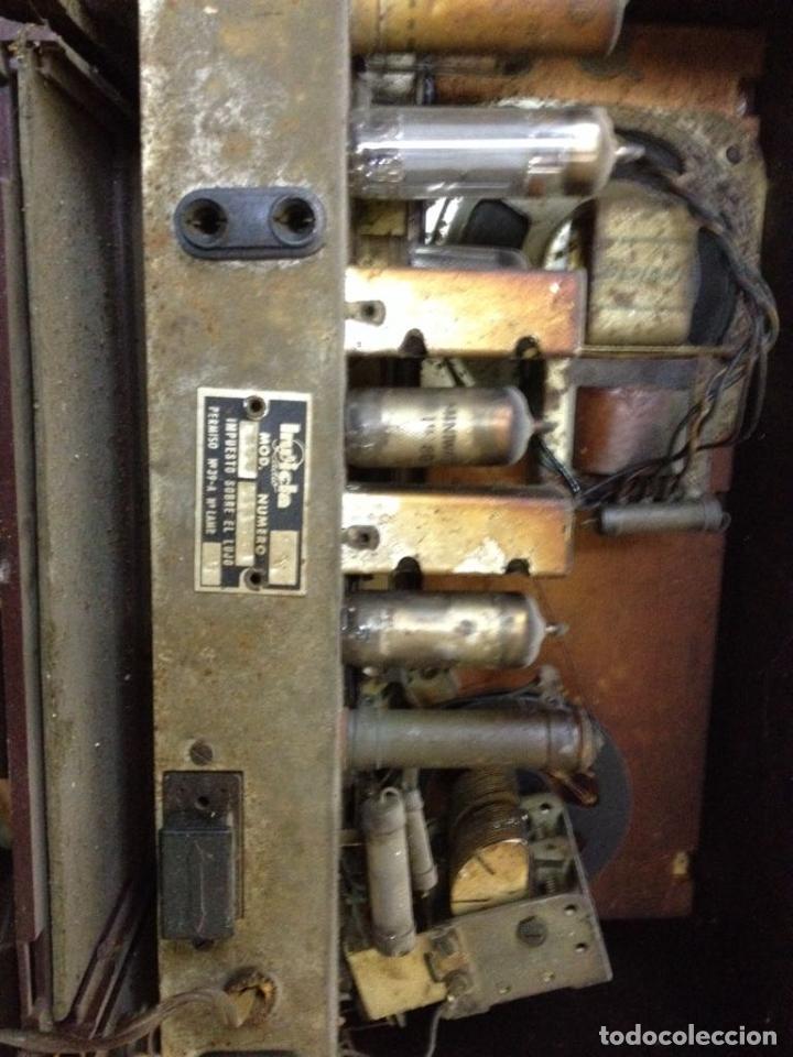 Radios de válvulas: Radio Invicta modelo 5368 - Foto 5 - 111708972
