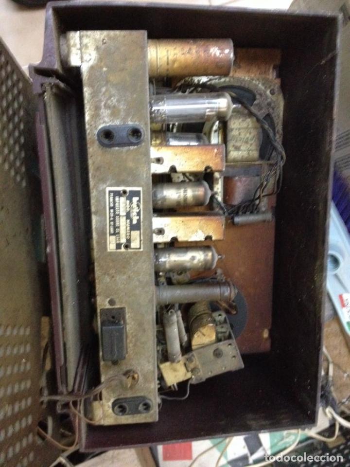 Radios de válvulas: Radio Invicta modelo 5368 - Foto 6 - 111708972