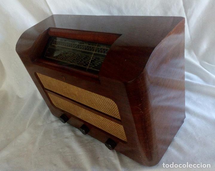 Radios de válvulas: ANTIGUA RADIO PHILIPS ( FABRICADA EN HOLANDA ) FUNCIONANDO. - Foto 3 - 90851670