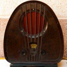 Radios de válvulas: ESPECTACULAR RADIO DE VÁLVULAS PHILIPS 834 AS, RADIO CAPILLA, FUNCIONANDO. AÑO 1933. Lote 92455190