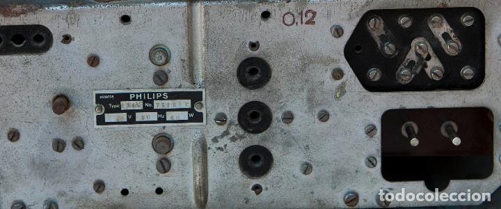 Radios de válvulas: ESPECTACULAR RADIO DE VÁLVULAS PHILIPS 834 AS, RADIO CAPILLA, FUNCIONANDO. AÑO 1933 - Foto 24 - 92455190