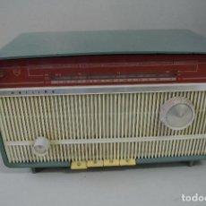 Radios de válvulas: ANTIGUA RADIO PHILIPS, VALVULAS. FUNCIONA. VINTAGE. Lote 93862235