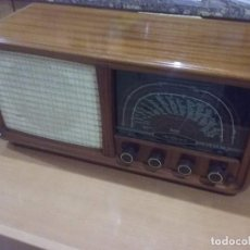 Radios de válvulas: TANDBERG SØLVSUPER 6 FM DE LUXE DE 1954. Lote 93980690