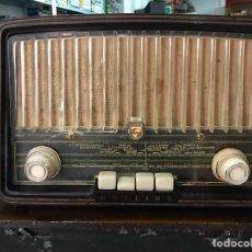 Radios de válvulas: RADIO DE VALVULAS - PHILIPS BE-362-U DE 1956 FUNCIONANDO CORRECTAMENTE. Lote 94811263