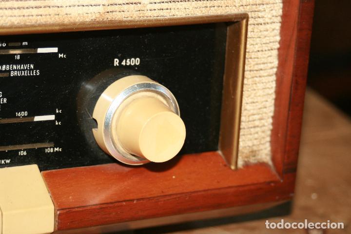 Radios de válvulas: Muy bonita Radio de válvulas Tungsram 4500, no funciona, para decoracion o para reparar - Foto 4 - 116833796