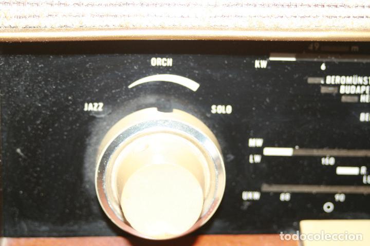 Radios de válvulas: Muy bonita Radio de válvulas Tungsram 4500, no funciona, para decoracion o para reparar - Foto 5 - 116833796