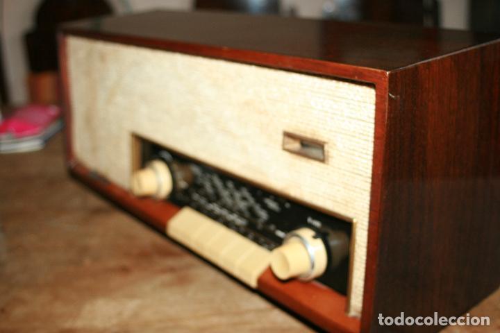 Radios de válvulas: Muy bonita Radio de válvulas Tungsram 4500, no funciona, para decoracion o para reparar - Foto 13 - 116833796