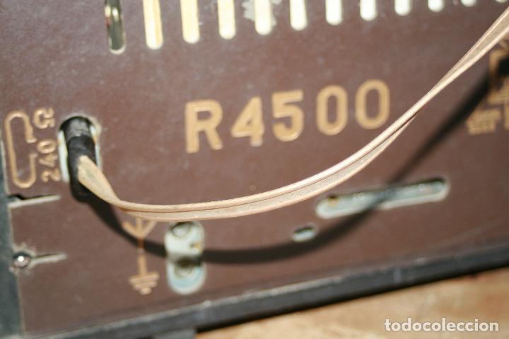 Radios de válvulas: Muy bonita Radio de válvulas Tungsram 4500, no funciona, para decoracion o para reparar - Foto 16 - 116833796