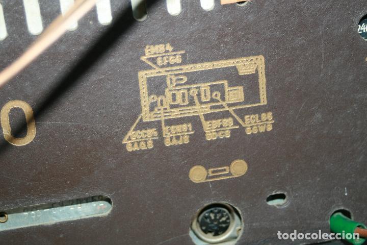 Radios de válvulas: Muy bonita Radio de válvulas Tungsram 4500, no funciona, para decoracion o para reparar - Foto 17 - 116833796